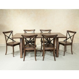 Lindsay Trestle Dining Set
