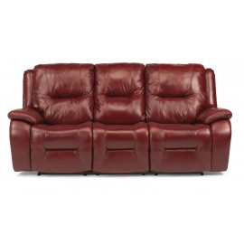 Zachary Leather Power Reclining Sofa