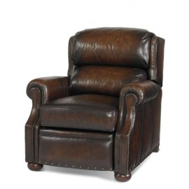 PLR-6116-WALNUT - Leather Recliner