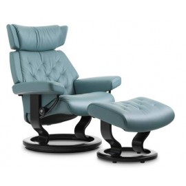 Stressless Skyline - Medium Chair & Ottoman