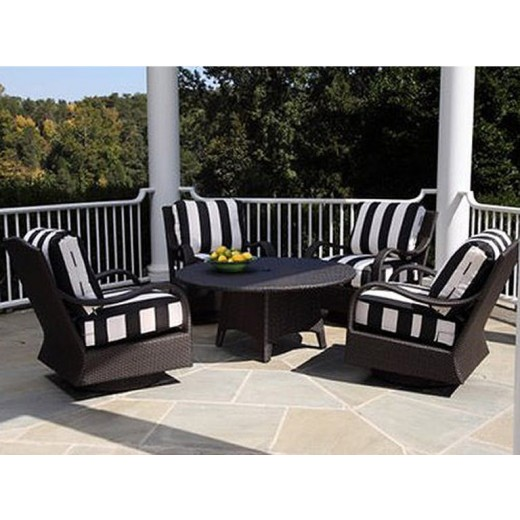 Outdoor Patio Furniture Hickory Nc: 435-008 Swivel Rocking Chair