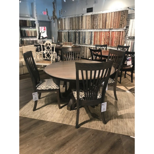 About A Chair 12 Side Chair.Doerr Furniture Expressions Dining Table W 1 12 Leaf 4 Adams