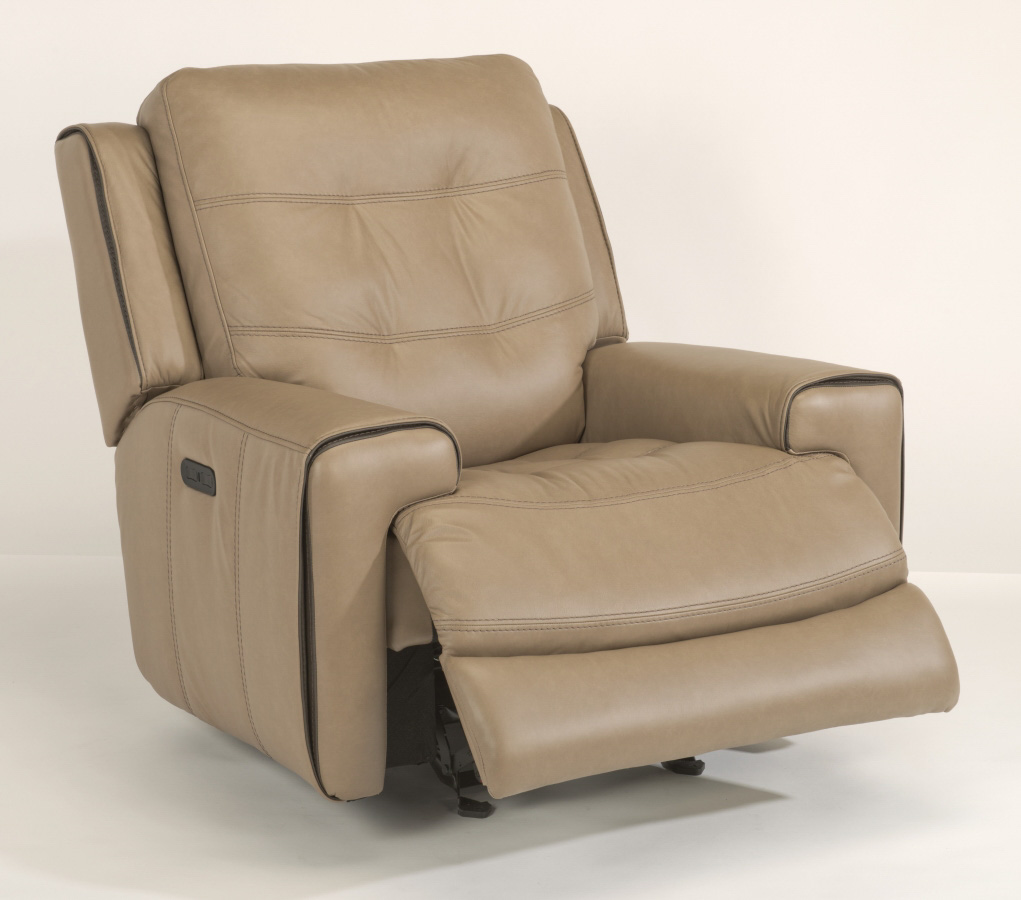 Awesome Doerr Furniture Wicklow Power Gliding Recliner W Power Machost Co Dining Chair Design Ideas Machostcouk