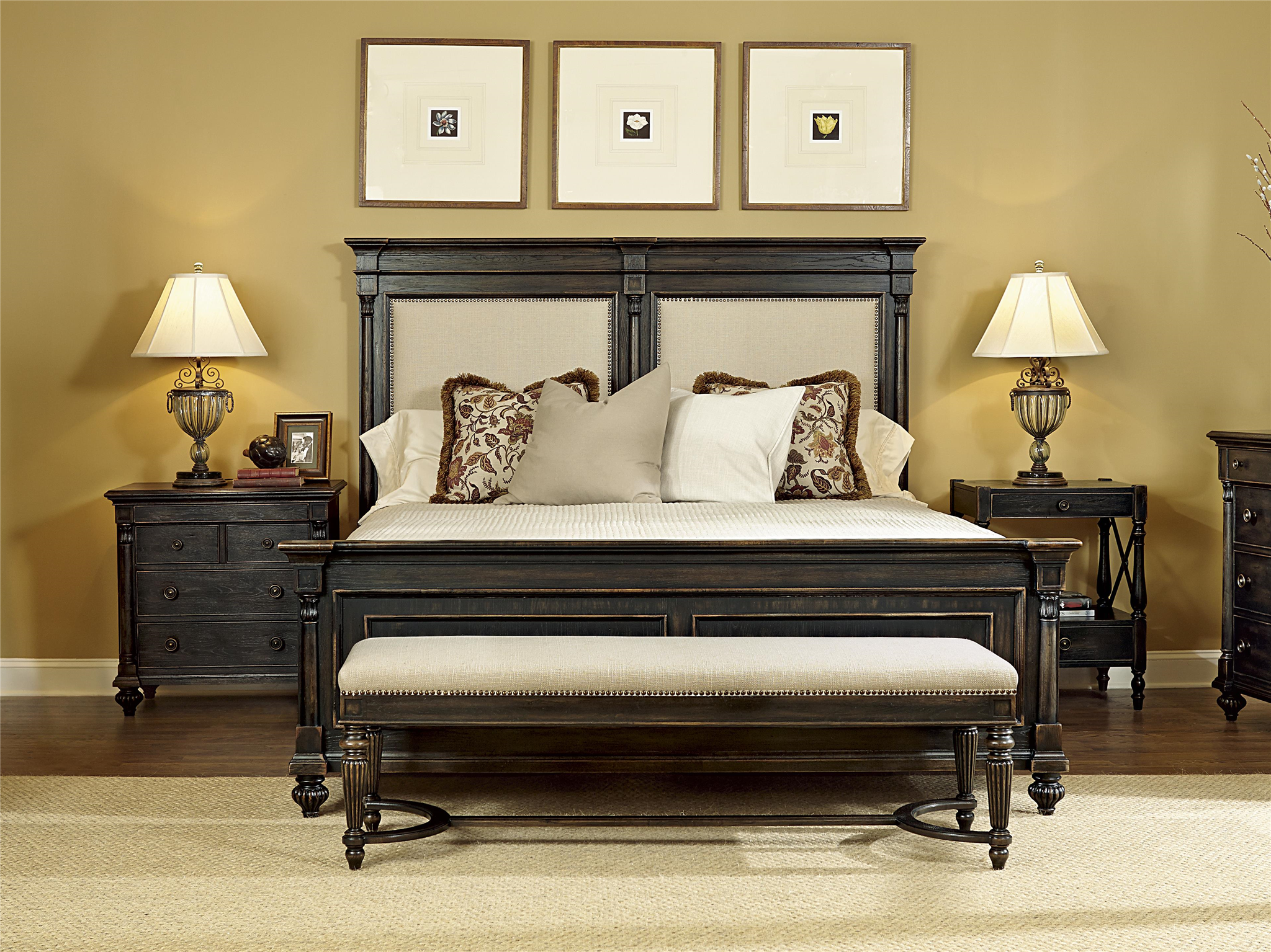Doerr Furniture - Braemore Bed Bench - Benches - Bedroom