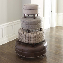 Custom Ottoman by HGTV Design Studios