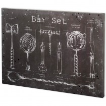 Bar Set Wall Art