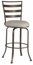 Kaufman Commercial Grade Swivel Bar Stool