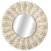 Round Ornate Wall Mirror