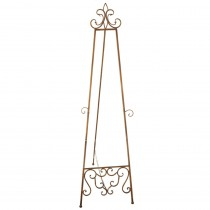 Antique Gold Display Easel