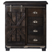 4 Drawer 1 Door Cabinet