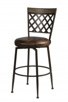 Greenfield Commercial Swivel Bar Height Stool