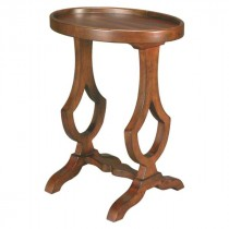 Oval Chair-Side Table
