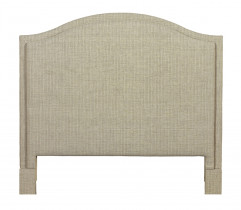 Vienna Arched Upholstered Queen Headboard by HGTV Design Studios