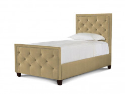 Manhattan Twin Upholstered Bed by HGTV Design Studios