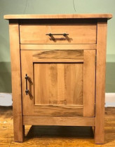 Bryson 1 Drawer 1 Door Nightstand