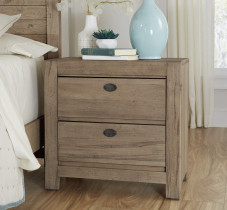 Touché 2 Drawer Nightstand