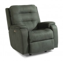 Arlo Power Rocking Recliner With Power Headrest and Lumbar