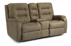 Arlo Power Reclining Loveseat w/Power Headrest and Lumbar