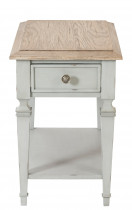 Burke Rectangular Side Table