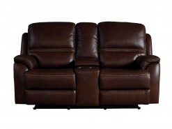 Williams Power Reclining Console Loveseat