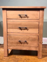 Bryson 3 Drawer Nightstand