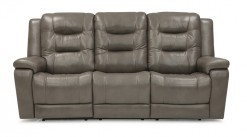 Leighton Power Wallhugger Reclining  Sofa w/Power Headrest