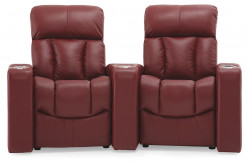 Paragon 2 Seat Theater Seating with Accessories