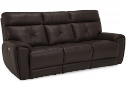 Aedon Reclining Sofa w/Power Headrest and Lumbar