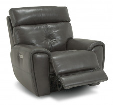 Aedon Wallhugger Recliner w/Power Headrest and Lumbar