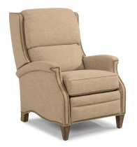 Priscilla Fabric Power High Leg Recliner