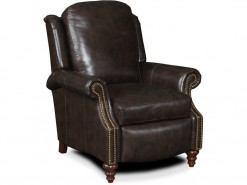 Hobson Leather 3-Way Reclining Lounger