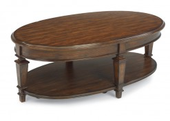 Oakbrook Oval Cocktail Table with Casters