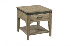 Plank Road Artisans Rectangular End Table