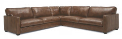 Talia 3 Piece Leather Sectional