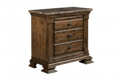 Portolone Marble Top Bachelors Chest
