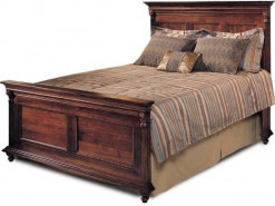 Saville Row King Panel Bed