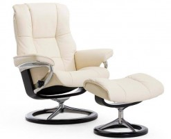 Stressless Mayfair Chair & Ottoman - Medium