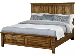Maple Road Queen Mansion Storage Bed