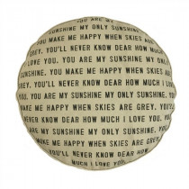 You Are My Sunshine Floor Pouf/Dog Bed