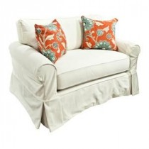 Alexandria Slipcover Chair and 1/2 Sleeper