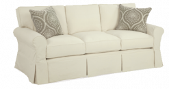 Alexandria Slipcover 3 Seat Box Back Sofa