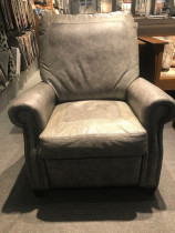 Custom Program Leather Recliner