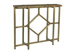 Bengal Manor Iron Diamond Console