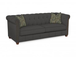Beech Mountain Leather Sofa