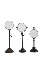 Magnifying Glass on Stand, Set of 3