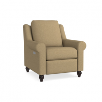 Magnificent Motion Fabric Power Reclining Chair with Articulating Headrest