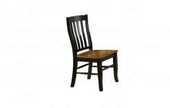 Quails Run Rake-Back Side Chair