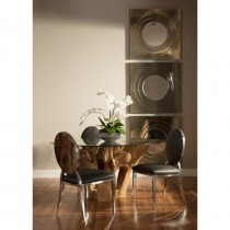 Jakarta Small Dining Table w/4 Nelson Side Chairs