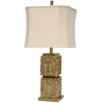Mayan Table Lamp