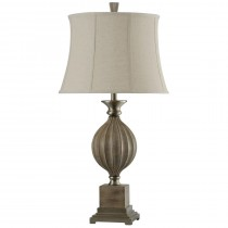 Norcross Transitional Resin & Metal Table Lamp